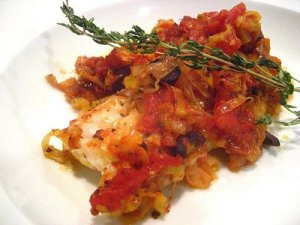 Provencal Baked Cod