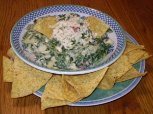 Rockin' Healthy Indian Spinach Dip