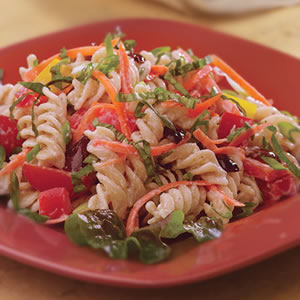 Colofully Fresh Tuna - Broccoli Pasta Salad ~